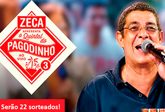 Quintal do Zeca Concorra a Cds duplos do Zeca Pagodinho