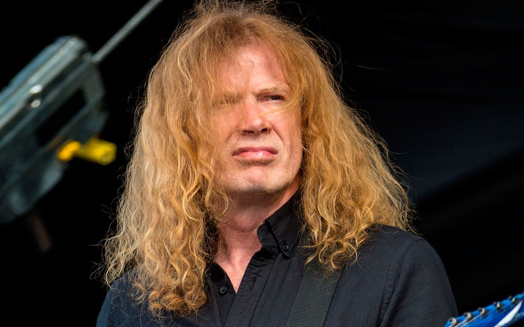 Líder do Megadeth anuncia câncer na garganta e cancela shows